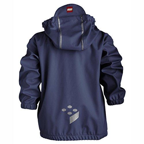 LEGO Wear Baby - Jungen Jacke JOSH 206 - RAIN JACKET Regenjacke, Blau (588 MIDNIGHT BLUE), Gr. 74 -