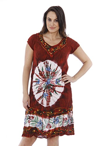 21317FXX-1 Riviera Sun Plus Size Summer Dresses / Swimsuit Cover Up