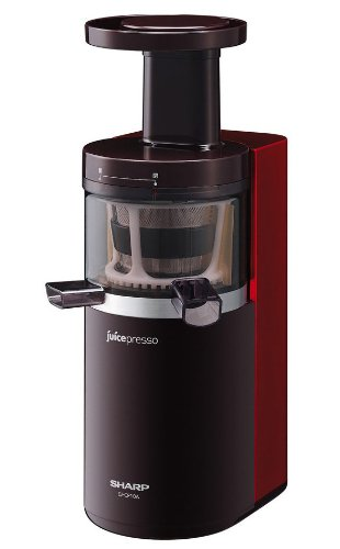 Slow Juicer Sharp : Reviews SHARP juicepresso Slow juicer Red EJ-CP10A-R ...