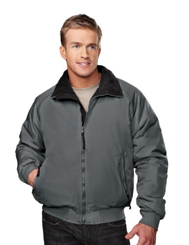 Tm-8800 Mountaineer Three-season Jacket- Charcoal/black (L-REG, CHARCOAL / BLACK)