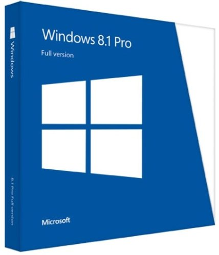 Microsoft Windows Professional 8.1 English 1 License