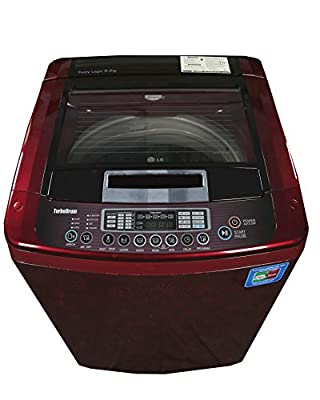 LG T10RRF21V Top-loading Washing Machine (9 Kg, Dark Red Pattern)