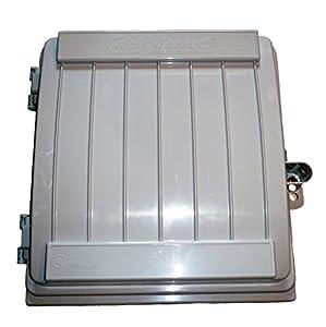 Cableguard cg 1500 coax demarcation enclosure outdoor - Sealing exterior electrical boxes ...