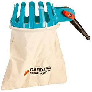 Gardena 3110 Combisystem Fruit Picker Head With Swivel Joint & Washable Cotton Bag