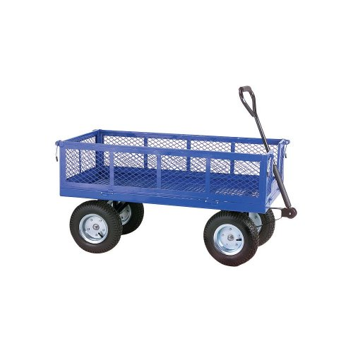 Blue Grizzly Folding Garden Wagon