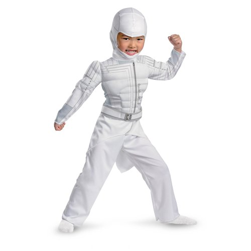 Gi Joe Retaliation Storm Shadow Muscle Kids Costume - Toddler 3T/4T - Toddler 3T/4T