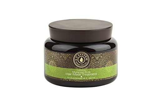 Moroccan Hair Styles: Gold Series Moroccan Style Hair Mask Treatment For Dry
