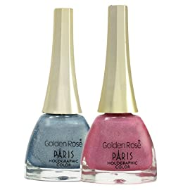 Golden Rose Paris Holographic Nail Lacquer
