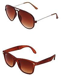 Benour BENCOM016 Combo Unisex Sunglasses