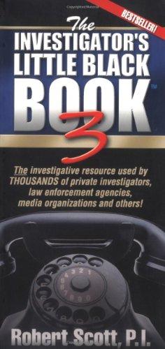 The Investigator's Little Black Book 3