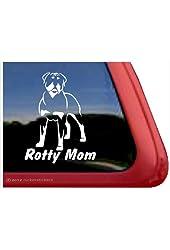 Rotty Mom ~ Rottweiler Vinyl Window Auto Decal Sticker