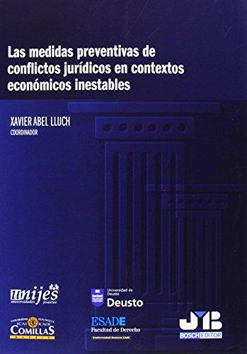 Las medidas preventivas de conflictos jurídicos en contextos económicos inestables