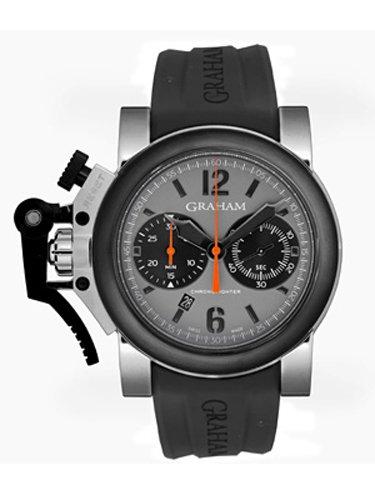 [グラハム] GRAHAM 腕時計 クロノファイター オーバーサイズ 2OVBV.S08A.K10B メンズ 新品 [並行輸入品]