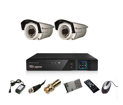 Tentronix-T-4ACH-2-BA10-4-Channel-AHD-Dvr,-2(1MP/36IR)-Bullet-Cameras-(With-Accessories)