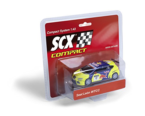 "Scalextric Compact - Coche Compact Seat León WTCC ""Gené"" (Fábrica de Juguetes 90227)"