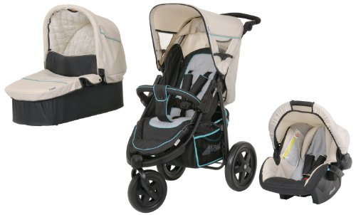 Hauck Viper Sporty Trio Set (Black/ Beige)