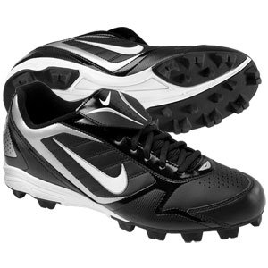 Nike Youth Baseball Cleats 1.5 Keystone Low (BG) Black White 375561 by Nike