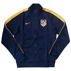 2013-14 Athletico Madrid Nike Authentic N98 Jacket (Navy)