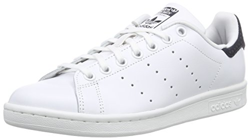 Adidas Stan Smith W Scarpe sportive, Donna, Bianco (Weiß (Legend Ink S10/Ftwr White/Gold Met.)), 40.7