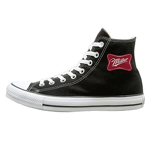 nfcgh-miller-lite-beer-vintage-canvas-shoes-sneakers-slip-on-shoes-40-black
