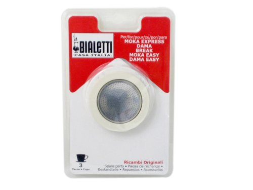 Best Review Of Bialetti Spare Parts Gasket and Filter Set, 3 Cup