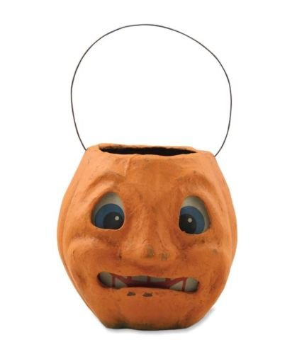 Bethany Lowe - Halloween - Scary Vintage Pumpkin Bucket - Tj2412
