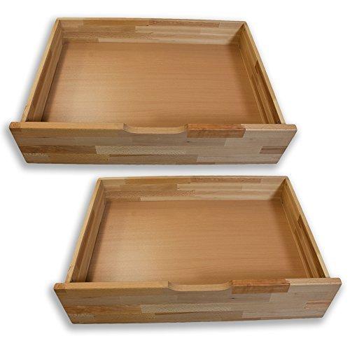 bettkasten set comfort von betten abc massives buchenholz mit rollen bestehend aus 2 bettk sten. Black Bedroom Furniture Sets. Home Design Ideas