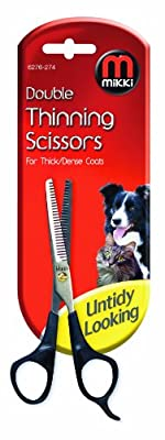 Mikki Grooming Double Thinning Scissors for Thick/ Dense Coat