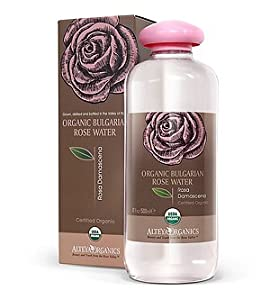 Organic Bulgarian Rose Water- 250ml (USDA organic)