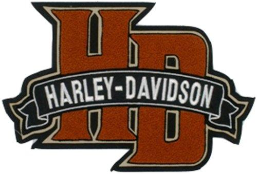 Harley Davidson Chenille Monogram Patch (3xlarge)