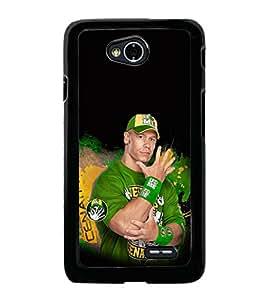 printtech WWE John Cena Back Case Cover for LG L70