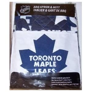 Toronto Maple Leafs Apron With Oven Barbeque Mitt Amazon