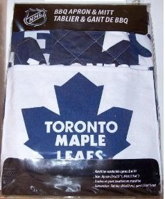 Toronto Maple Leafs Apron with Oven/Barbeque Mitt