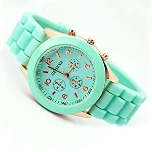 2013 Geneva Popular Silicone Quartz Men/women/girl Unisex Jelly Wrist Watch By SH
