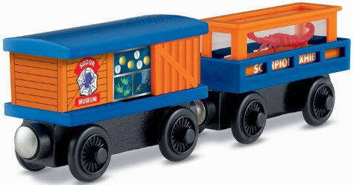 Fisher-Price Thomas the Train Wooden Railway Crawly Critters Cargo Car (Thomas Wooden Railway Cars compare prices)