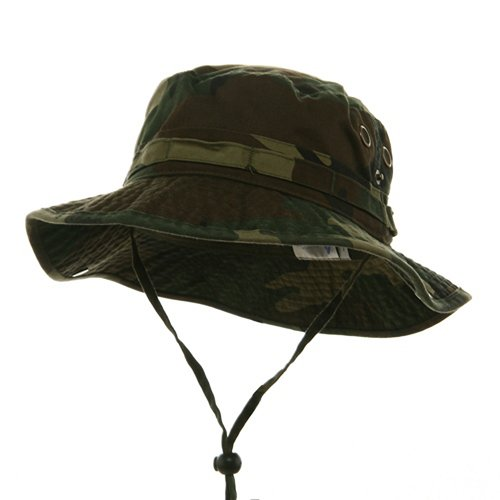 Washed Hunting Fishing Outdoor Hat-Camo (XXL) W11S41D