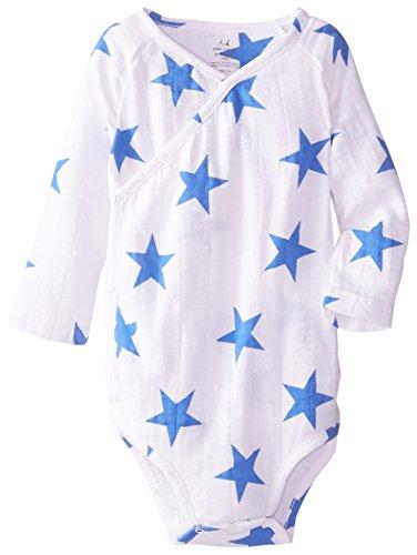 aden anais Baby Boys Newborn Muslin Long Sleeve Kimono