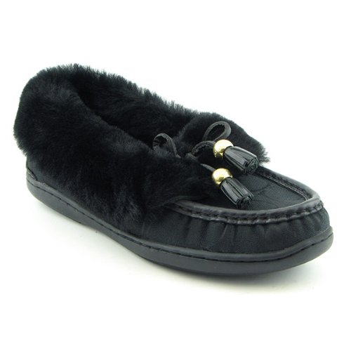 Cheap Coach Signature Fiona Shearling slippers (B002YVFIA0)