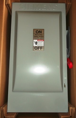 *NEW* Siemens 200 Amp Heavy Duty Safety Switch Cat# HF364N *NEW* $400