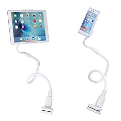 MoKo Phone / Tablet Stand, Gooseneck Lazy Adjustable Universal 3-10 Inch Mount Holder Cradle for iPad Pro 9.7
