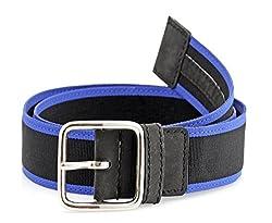 tZaro Genuine Leather, Nylon webbing, Metal Buckel Men's Belt