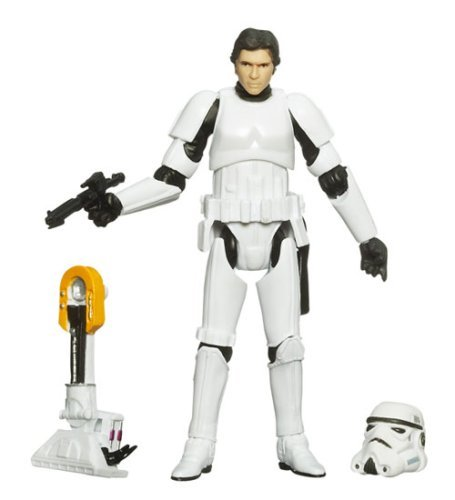 Buy Low Price Hasbro Star Wars Legacy Collection Build-A-Droid Factory Action Figure BD No. 31 Han Solo (Stormtrooper) (B001QKGO12)