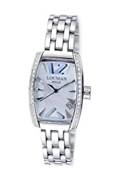 Locman Women's 151BMOPSKD Panorama Collection Steel Watch by Locman