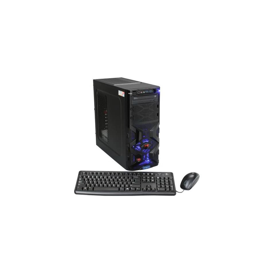 Avatar Gaming FX8164ICE, AMD FX8120 Processor, 16GB DDR3 Memory, 1TB HDD, Windows 8, Liquid Cooling System