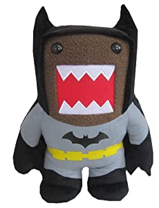 "Domo Batman Large 16.5"" Plush, Black"