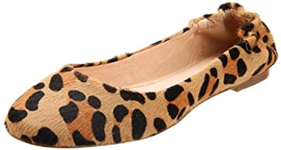 Steve Madden Women's Koool-P Ballerina Flat,Leopard,8.5 M US