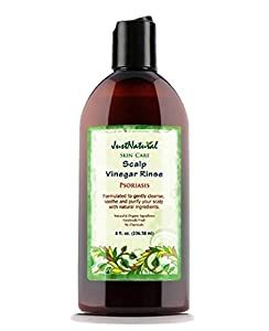 Psoriasis Scalp Vinegar Rinse Cleanser - 8 fl oz from Just Natural Products