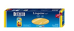 De Cecco Pasta, Linguine, 16 Ounce (Pack of 5)