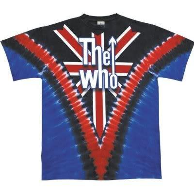 THE WHO 'Long Live Rock' 2-sided V-dye t-shirt (2X)