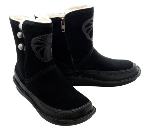 New Alegria Aspen Blk Suede Ladies 41 $155